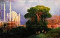 Вид Константинополя (И.К. Айвазовский, 1851 г.)