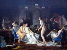 Девичник в бане (Ф.С. Журавлев)