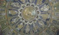 Мозаика баптистерия в Равенне