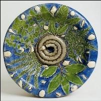 Керамическое блюдо, произведение Бернара Палисси