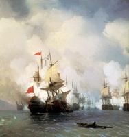 Бой в Хиосском проливе 24 июня 1770 года (1848 г.)