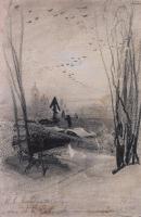 На кладбище. 1884