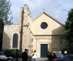 Старейшая церковь Сен-Жюльен-ле-Повр