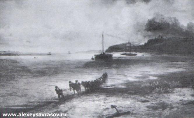 Волга под Юрьевцем. 1870-1871