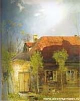 Домик в провинции. Весна. 1878