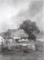 Украинский пейзаж. 1860-е