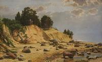 После шторма в Мери-Хови (И. Шишкин, 1891 г.)