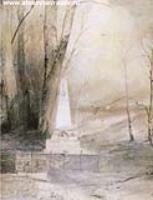 Могила А.С. Пушкина. 1873