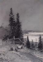 Спуск к реке. 1868