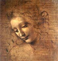 Девушка с растрепанными волосами (Л. да Винчи)