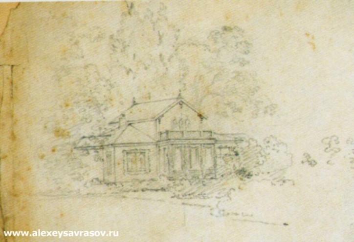 Усадебный дом. Конец 1840 - начало 1850-х