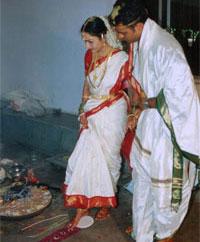 Индуистский свадебный обряд