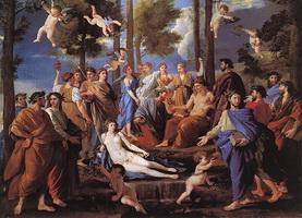 Аполлон и Музы (Никола Пуссен, 1630-е г.)