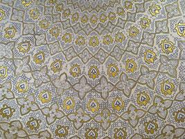 Потолок мавзолея (ганч, Самарканд)