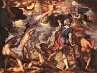 Битва богов с титанами (Иоахим Эйтевал)