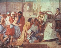 Иосиф узнанный его братьями (Корнелиус)