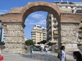 Триумфальная арка, Салоники, Грециия
