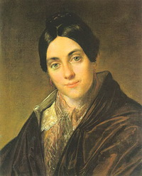 Портрет Л.К. Маковской (В.А. Тропинин, 1830 г.)