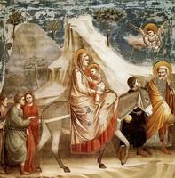 Бегство в Египет (Джотто, 1304-1306 г.)