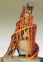 Модель памятника-башни III Интернационала