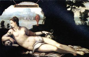 Ева — первая Пандора (Жан Кузен)