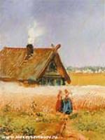 Кутузовская изба в Филях. 1860-е