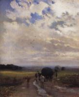 После дождя. 1880-е