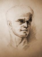 Зарисовка головы