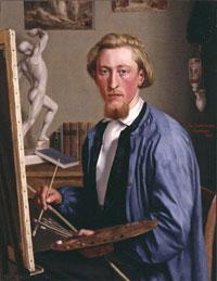 Карл Людвиг Йессен (Автопортрет)