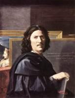 "Картина Никола Пуссена ""Автопортрет"". 1650 год"