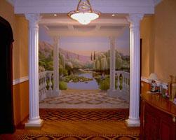 Альфрейная роспись стен