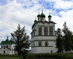 Церковь Иоанна Богослова. Николо-Вяжищский монастырь