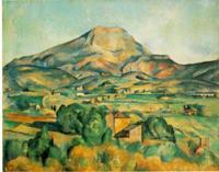 Гора Сент-Виктуар 1885-1895 Поль Сезанн