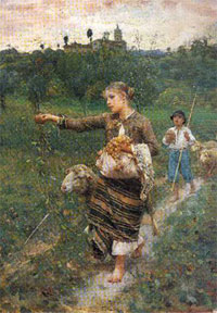 Пастушка (Ф.П. Микетти)