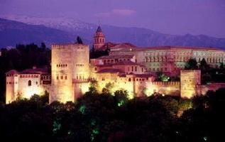 Ночная Альгамбра